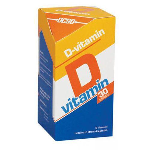 OCSO D-vitamin tabletta – 30db