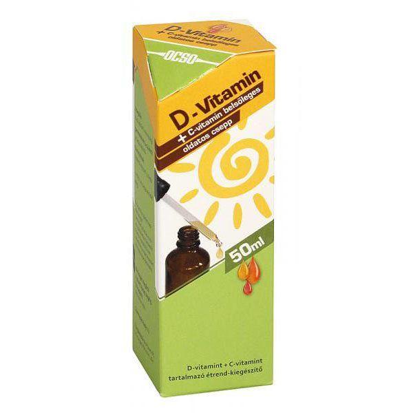 OCSO D-vitamin csepp – 50 ml