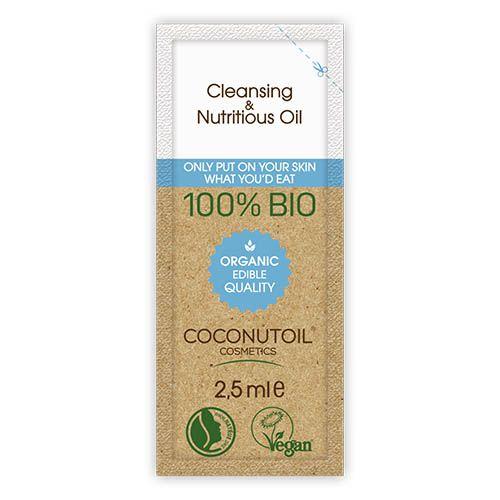 Coconutoil Bio Arcregeneráló és sminklemosó olaj 2,5 ml